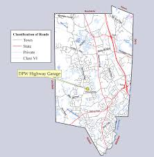 Nh Map Town Of Londonderry Nh Highway Division