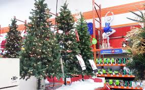 christmas trees at home depot christmas lights decoration