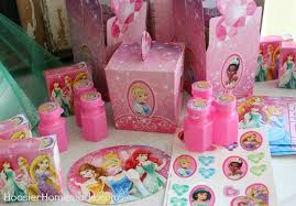 Disney Princess Party Decorations Princess Party Cupcakes And Decorations Hoosier Homemade