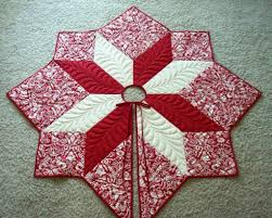 quilted christmas pretty quilted christmas tree skirt pattern 60 patterns chritsmas