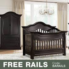 Baby Furniture Armoire Baby Appleseed Millbury 2 Piece Nursery Set Convertible Crib And
