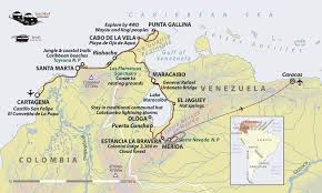 Venezuela Map Colombia Venezuela Map Images