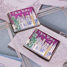 Nyc Wedding Favors by New York Skyline Magnet New York Wedding Favors Wedding
