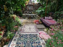 pebbles in garden home design ideas