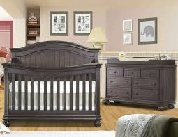 Convertible Crib Set Black Crib Furniture