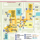 map of cleveland clinic getting here patients visitors hospitals