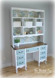 Desk Hutch Ideas Best 25 Desk With Hutch Ideas On Desk Redo Craft