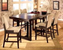 stone top dining room table furniture splendid counter height table storage black dining