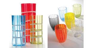 bicchieri design vetro di design zafferano italybylove
