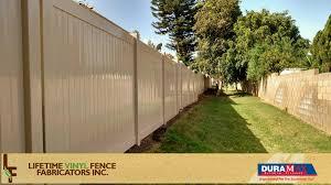 lifetime vinyl fence supply inc vinyl fence fences vinyl