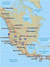 map of mexico and america the pan american highway join us on the ultimate road trip