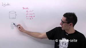 zylinderoberfl che zylinder berechnen zylindervolumen zylinderoberfläche