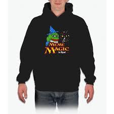 Meme Jacket - meme magic is real pepe the frog wizard hoodie products