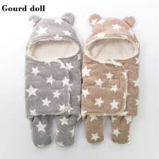 new baby infant winter sleeping bags as envelope for newborn