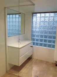 Mirrored Glass Vanity With Floating Vanity With Basin Mixer Custom Made Mirror Glass
