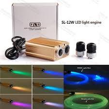 diy 12w rgb optical fiber led light source for swimming pool