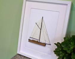 sailboat blueprint etsy