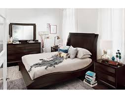 Manhattan Bedroom Furniture by The Cascade Merlot Collection American Signature Furniture