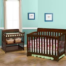 delta 2 piece nursery set eclipse 4 in 1 convertible crib and