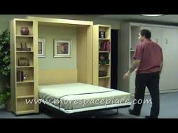 bookcases for bedrooms photo yvotube com bifold bookcase murphy bed pertaining to www morespaceplace com new