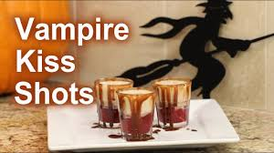halloween coffee drinks halloween vampire kiss shots bailey u0027s irish cream rockin robin
