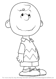 learn draw charlie brown peanuts movie