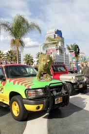 jurassic park tour car iconic film and tv wheels vrooom onto lbcc promenade a photo