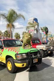 jurassic park tour car iconic film and tv wheels vrooom onto lbcc promenade a photo