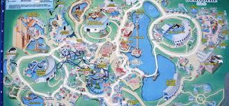 Orlando Theme Parks Map by Seaworld Orlando A Theme Park In Orlando Florida Travel Featured