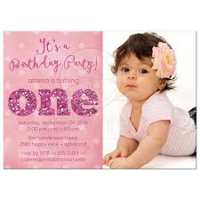 sample of birthday invitation cards 1 year old choice image