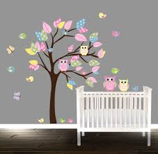 home design corner family tree wall decal modern expansive