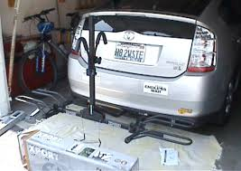 toyota prius bike rack prius hitch mounted bike rack page