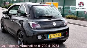 vauxhall adam 2014 vauxhall adam slam 1 2l black eo14vyc for sale at toomey