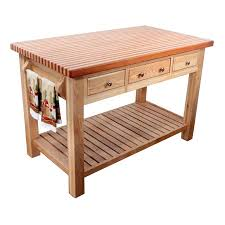 Wood Kitchen Island Table Island Kitchen Prep Table Shop Kitchen Islands Carts At Prep
