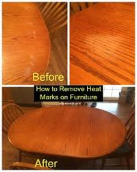 heat stain on wood table how to get heat marks out of wood stuff i like pinterest woods