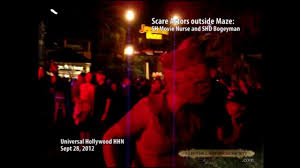 silent hill maze at universal hollywood halloween horror nights