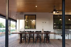 Outdoor Wood Ceiling Planks by Outdoor Dining Archives Ceiling Fan Decor