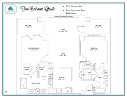 Symmetrical Floor Plans Floor Plans Of Harbor U0027s Edge Assisted Living Home