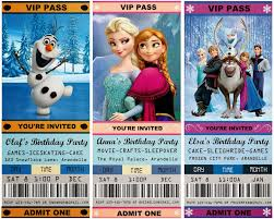 super bowl party invitation template jennuine by rook no 17 movie ticket style frozen party