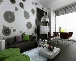 Living Room Style Contoh Wallpaper Dinding Ruang Tamu Desain Minimalis Pinterest