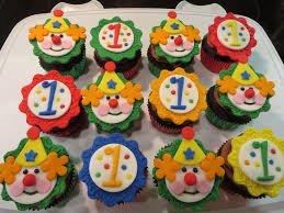 circus cake toppers clown and 1 cupcake toppers to go with a circus theme cake for my