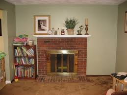 refacing brick fireplace with stone claddingfarmhouses u0026 fireplaces