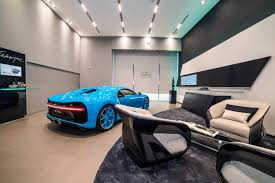 bugatti showroom bugatti launches taiwan showroom with all blue chiron