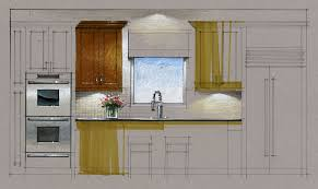 Hand Rendered Floor Plan Tutorial Hand Rendering Kitchen Elevation 160223 Youtube