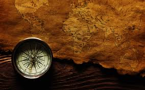 Map With Compass Map And Compass 6940607