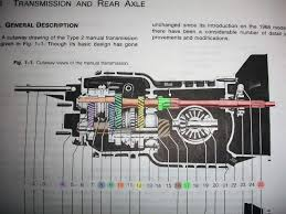 volkswagen old van drawing vw transaxle