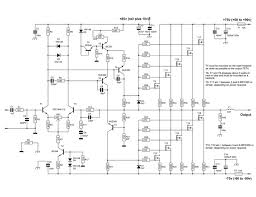 600 watt mosfet power amplifier circuit diagram projekty na