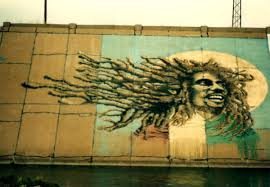 pending loss of levee mural means an eventual blank canvas krcc an older photo of bob marley painted on pueblo s arkansas river levee mural
