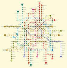 Map Of Paris Metro by