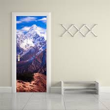 popular wall stickers art buy cheap wall stickers art lots from mount everest 3d wall sticker art decor vinyl removable mural poster scene window door decoration